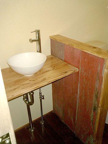 古材・板材バーンボードレッド